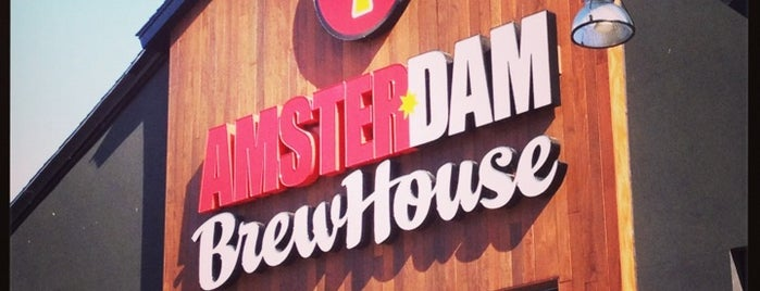 Amsterdam Brewhouse is one of Lieux qui ont plu à Anne.