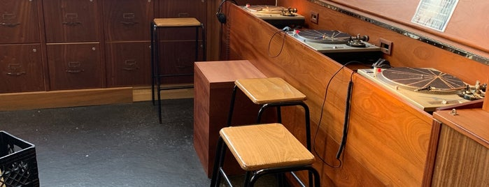 Halcyon: Stellar Records Armory and Strategic Audio Center is one of Brooklyn bar list.