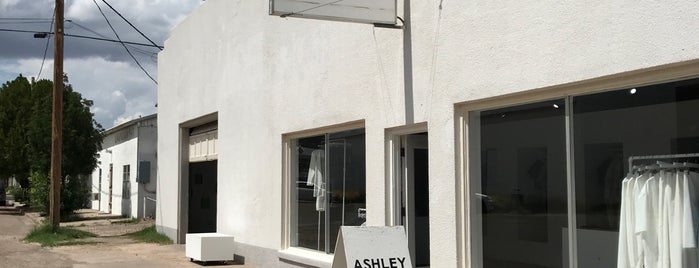 Ashley Rowe is one of Marfa, TX Spots.