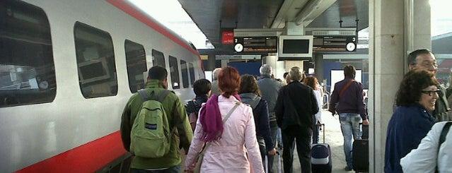 Stazione Venezia Santa Lucia is one of Top 100 Check-In Venues Italia.