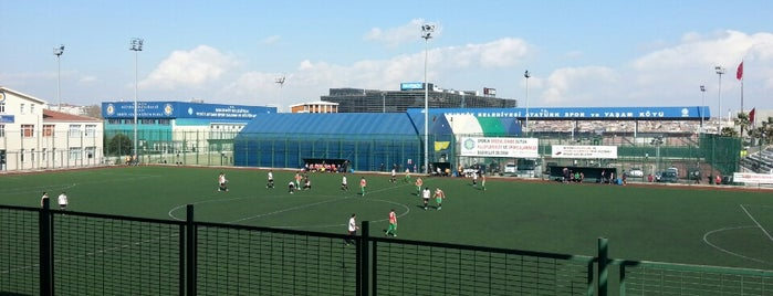 Atatürk Spor ve Yaşam Köyü is one of Lugares favoritos de özge.
