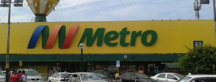 Metro is one of สถานที่ที่ Jamhil ถูกใจ.