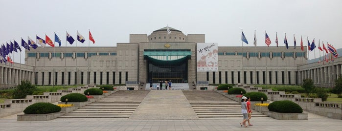 The War Memorial of Korea is one of Good for your Seoul.