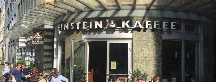 Einstein Kaffee is one of Berlin.