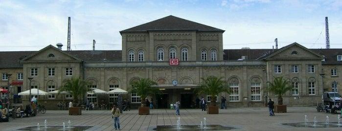Bahnhof Göttingen is one of Orte, die Kai gefallen.