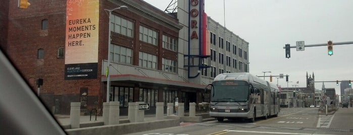 Agora Theatre & Ballroom is one of CLE.