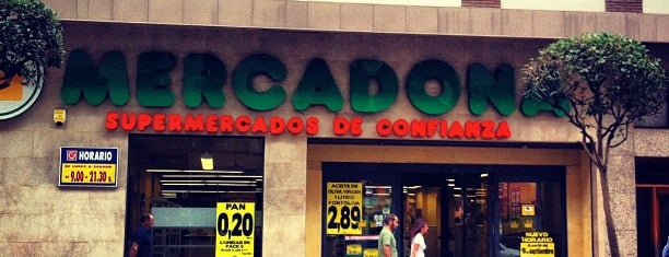 Mercadona is one of Locais curtidos por Ignacio.