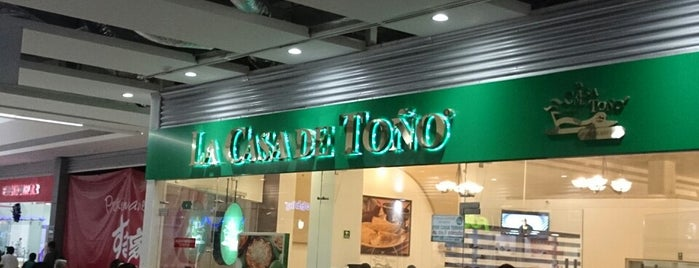 La Casa de Toño is one of Comida :).