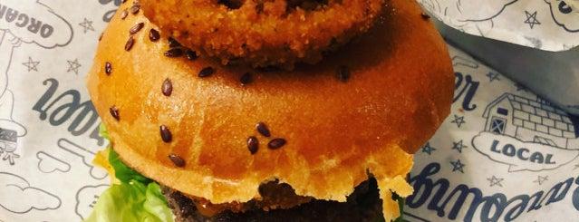 Bareburger is one of Lieux sauvegardés par Jeff.
