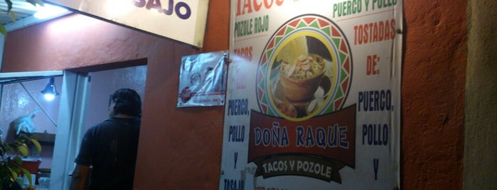 Tacos Y Pozoles Doña Raque is one of Lau 👸🏼 님이 좋아한 장소.