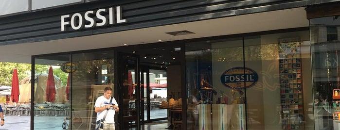 Fossil is one of Orte, die Cristi gefallen.