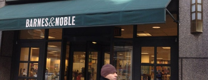 Barnes & Noble is one of Bookstores NYC.