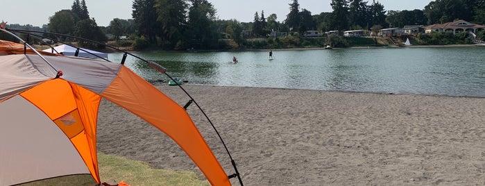 Horseshoe Lake Park is one of Washington.