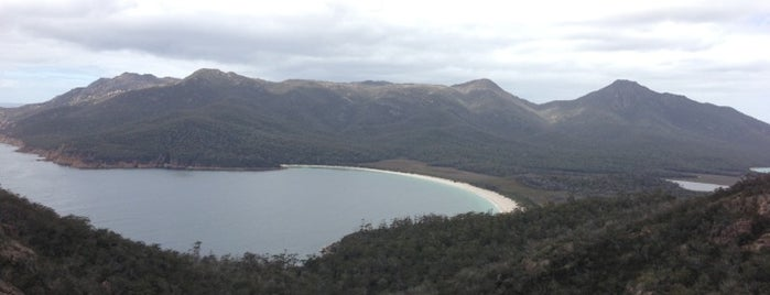 Wineglass Bay Lookout is one of Febrina's Liked Places.