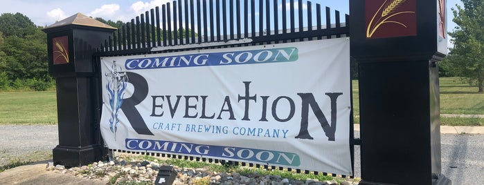 Revelation Craft Brewing Company is one of Delaware & Outskirts (MD & PA) Breweries.