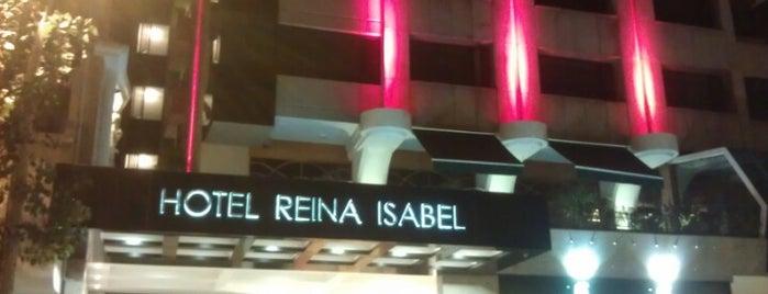 Hotel Reina Isabel is one of Tempat yang Disukai Héctor.