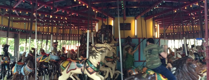 Fantasy Forest Amusement Park at the Flushing Meadows Carousel is one of Carousels.