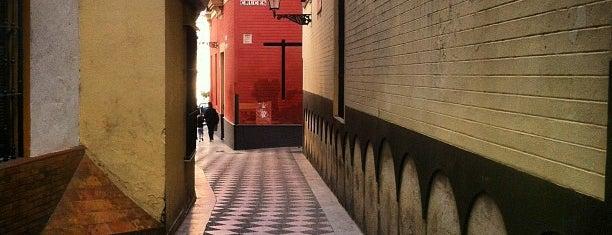Barrio Santa Cruz is one of Spain.