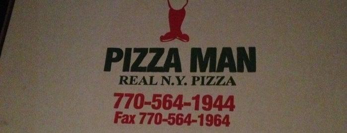 Pizza Man is one of Restaurantours.
