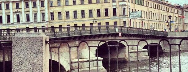 Измайловский мост is one of SPB.