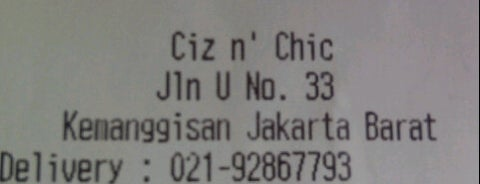 Ciz n' Chic is one of Close Coffee and Food.