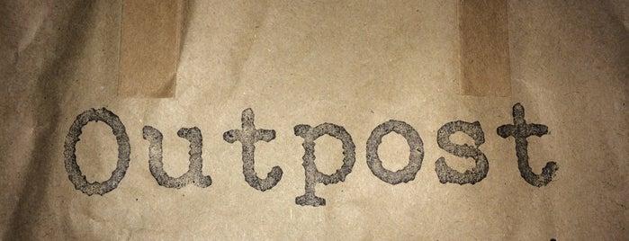 outpost is one of Posti che sono piaciuti a DFR.