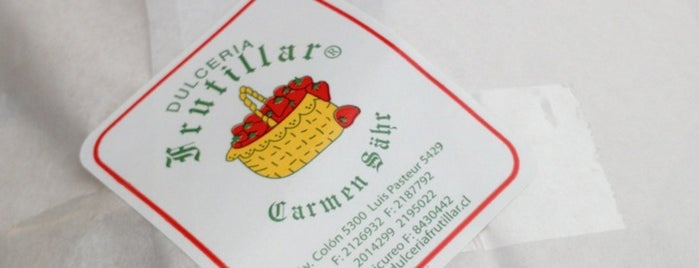 dulceria frutillar is one of Comida.