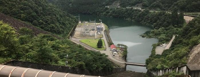 九頭竜ダム is one of Lieux qui ont plu à 高井.