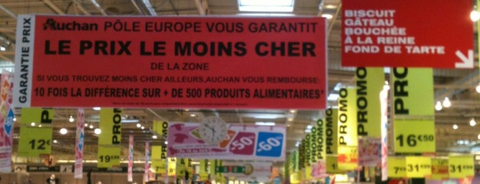 Auchan is one of Lugares favoritos de Greg.