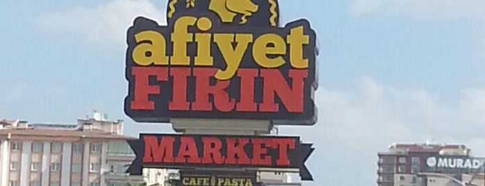 Afiyet Fırın Cafe is one of Posti che sono piaciuti a Guven.