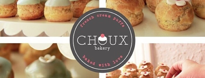 Choux Bakery™ is one of To Try.
