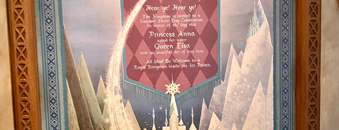 Frozen Ever After is one of Epcot.