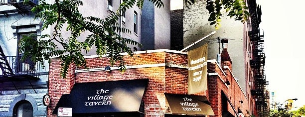 The Village Tavern is one of The New Yorkers: Village Life.