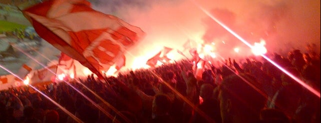 "Stadion ""Rajko Mitić"" is one of mesta koja volim :)."