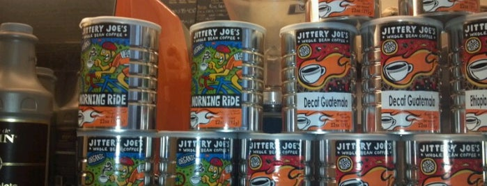 Jittery Joe's is one of NYC  cafe / coffee lovers (esp soy milk drinkers).