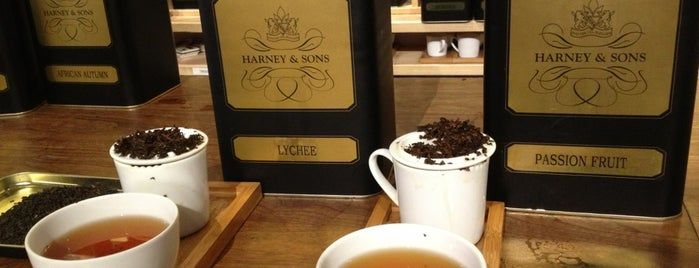 Harney & Sons is one of Places to drink.