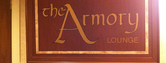 The Armory Lounge is one of Gespeicherte Orte von Rex.