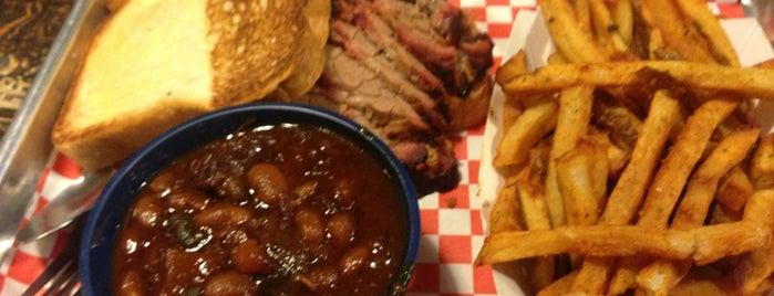 Community Q BBQ is one of Creative Loafing 100 Dishes Level 10 (100%).