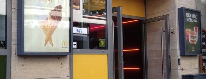McDonald's is one of Tempat yang Disimpan Oumou.