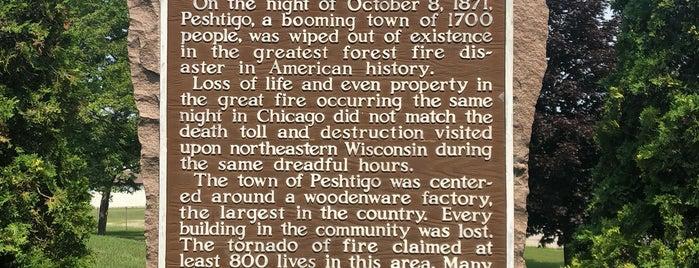 Peshtigo Fire Museum is one of Fall 2021 to Do.