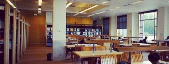 UCSF - Library (Parnassus) is one of Places to go.