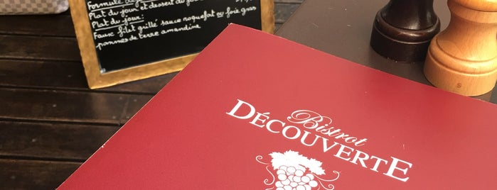 Bistrot Decouverte is one of Paris.