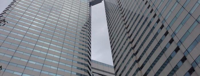 Harumi Triton Square is one of Tempat yang Disukai まるめん@下級底辺SOCIO.