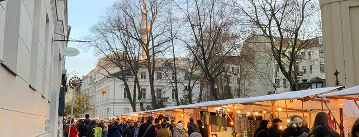 Umwelt- und Weihnachtsmarkt Sophienstraße is one of Weihnachtsmärkte 2.