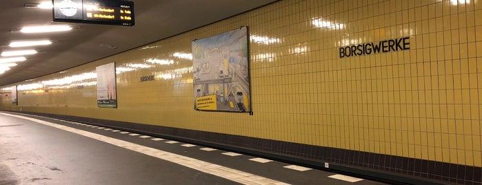 U Borsigwerke is one of Joud's Liked Places.