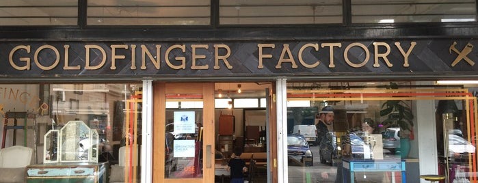 Goldfinger Factory is one of Time Out London.