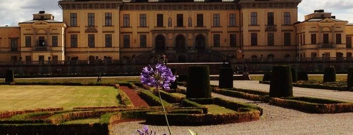 Drottningholms Slott is one of Stockholm.