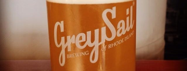 Grey Sail Brewing of Rhode Island is one of Newport, RI.