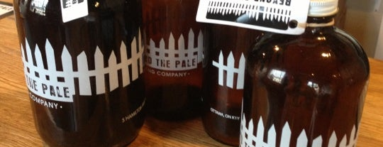 Beyond the Pale Brewing Company is one of ottawa.
