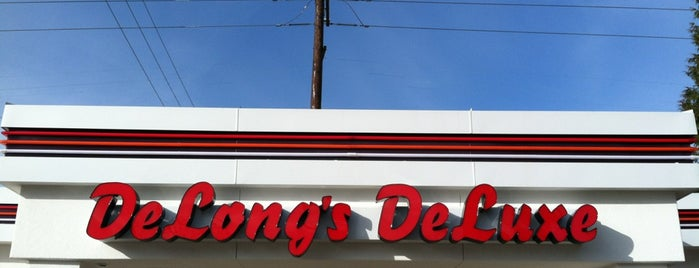 Delong's Deluxe is one of Burger Joints.